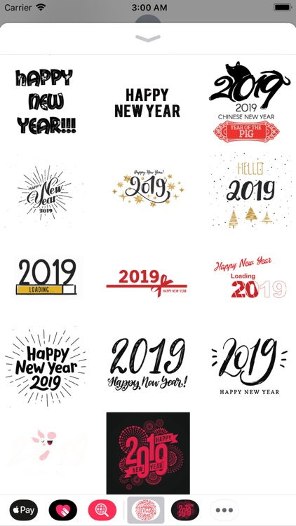 New Year Wishes Animated Pack screenshot-4