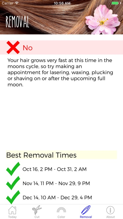 Hair Astrology Professional screenshot-3