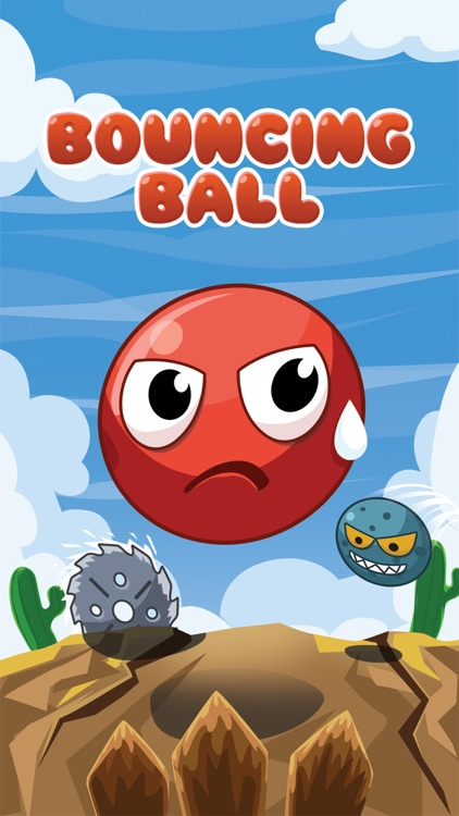 Bouncing ball adventure screenshot-0