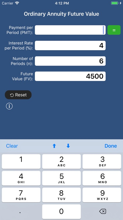 SuperFVCalc: FV, PV, Annuities screenshot-1