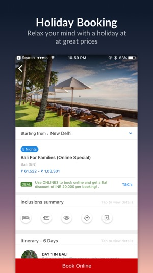 MakeMyTrip - Flights, Hotels on the App Store