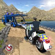 OffRoad Police Bike Transport Simulator