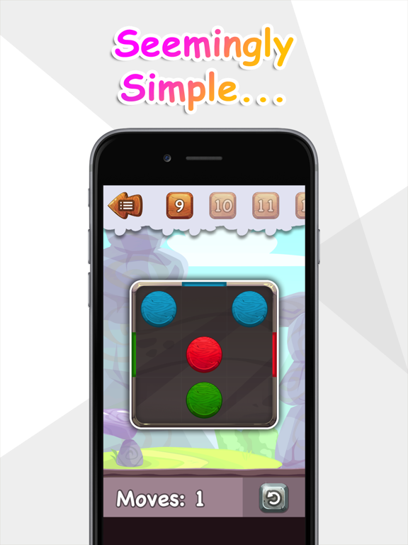 Balls to the Wall - a sliding puzzle screenshot 5