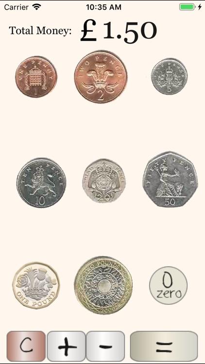 UK Coin Calculator