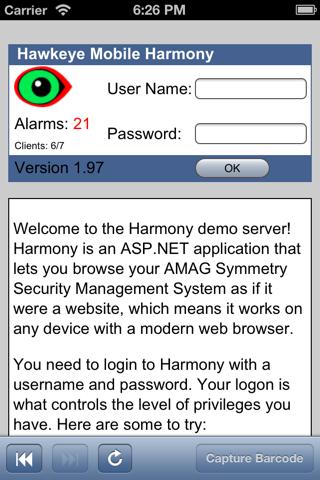 Harmony Browser - náhled