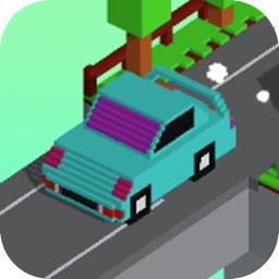 Pixel car run-daily drive game
