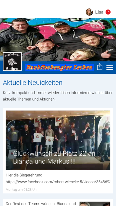 Raubfischangler Lathen screenshot 1
