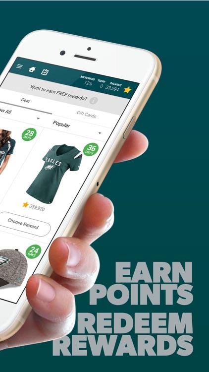 Philadelphia Football Louder Rewards