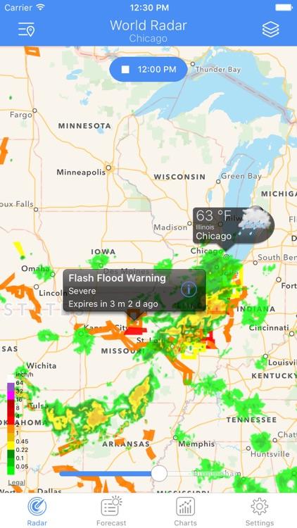 NOAA Radar - Weather & Alerts screenshot-3