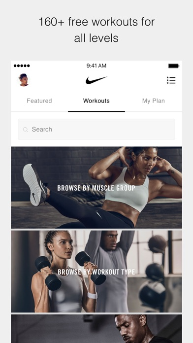download Nike Training Club apps 3