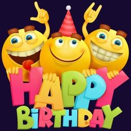 Bday - Birthday Party Stickers