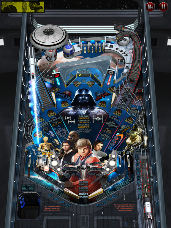 Star Wars™ Pinball 3 screenshot