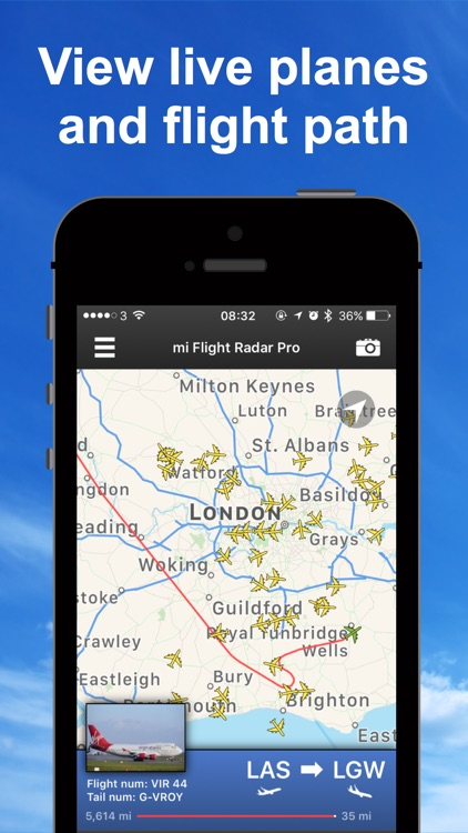 mi Flight Radar Lite & Tracker