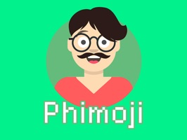 Phimoji- animated emoji stickers app is a set of emoji stickers which can be used in the iMessage application
