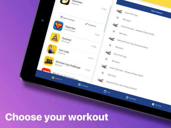 Chest Workout: Pump it Up screenshot