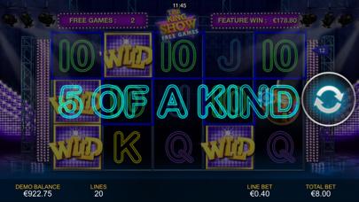 Cat in Vegas Slot Machine screenshot four