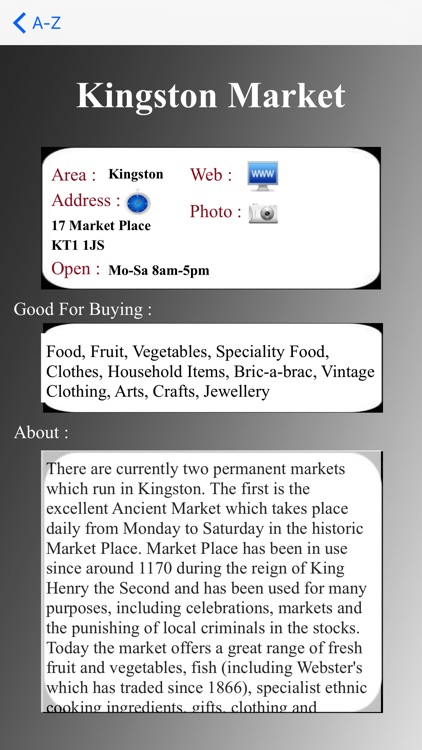 London Market Guide screenshot-4