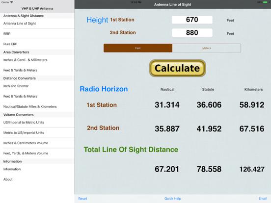 VHF/UHF Antenna Line of Sight | App Price Drops