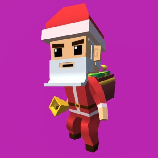 Santa Claus Jumping Simulator iOS App