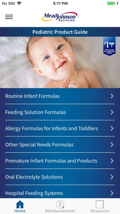 MJN Pediatric Product Guide