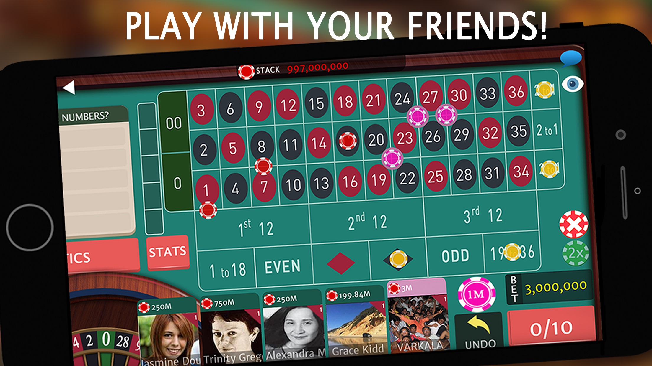 Roulette Royale - Grand Casino Screenshot