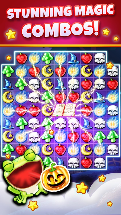 Witch Puzzle - Match 3 Game screenshot-3