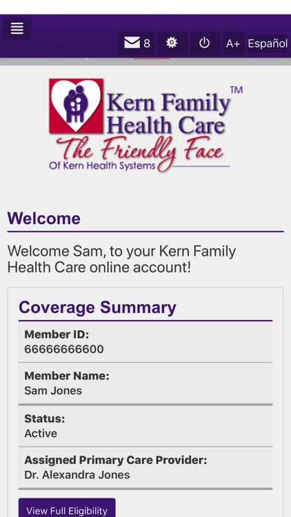 Kern Family Health Care LINK