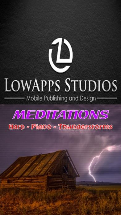 Meditations:Harp Piano Thunder screenshot 3