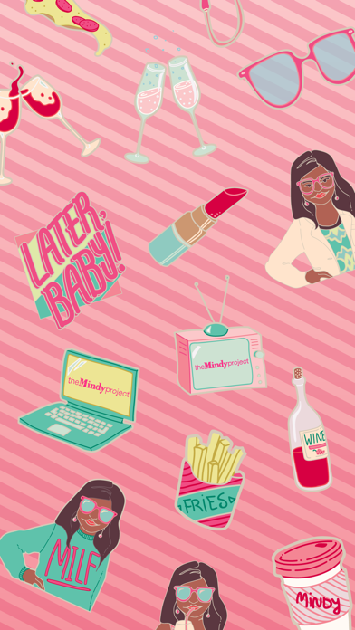The Mindy Project Stickers Screenshot