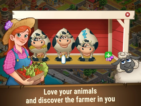 Farm Dream: Farming Sim Game-ipad-2
