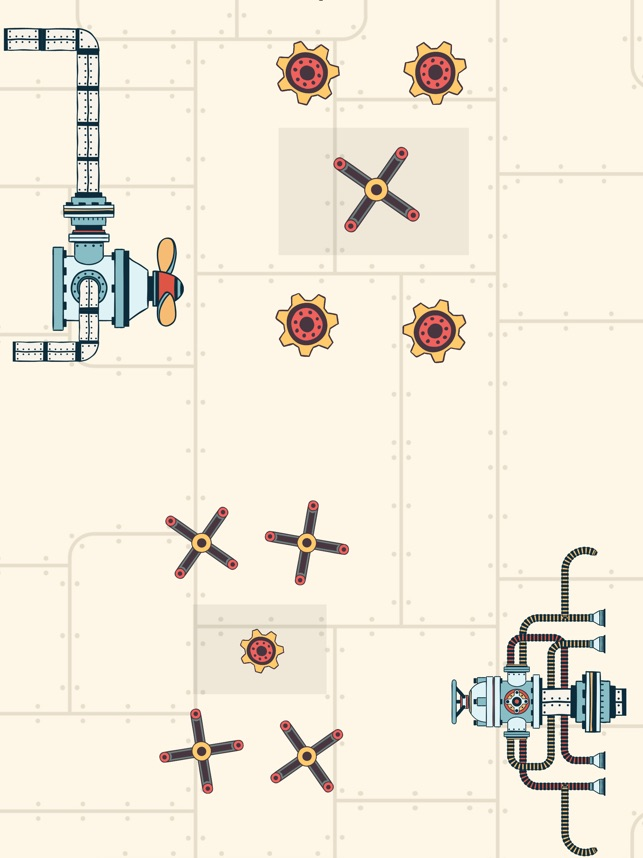 Steampunk Puzzle Physics Game Screenshot