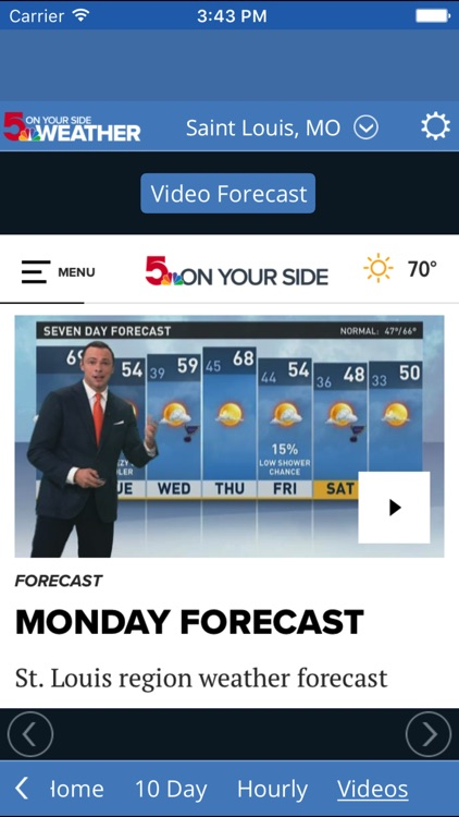 KSDK Weather screenshot-2