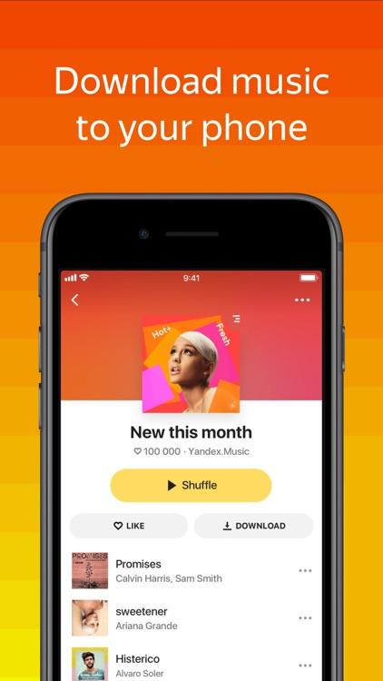 Yandex Music screenshot-0