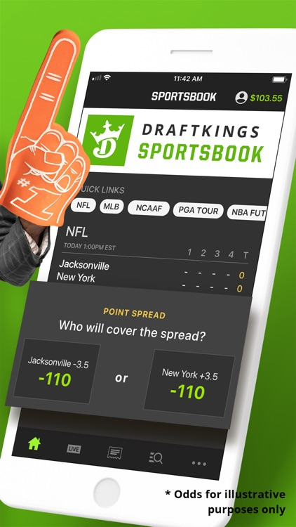 DraftKings Sportsbook screenshot-1