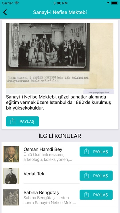 Screenshot for Unutma İstanbul in Greece App Store