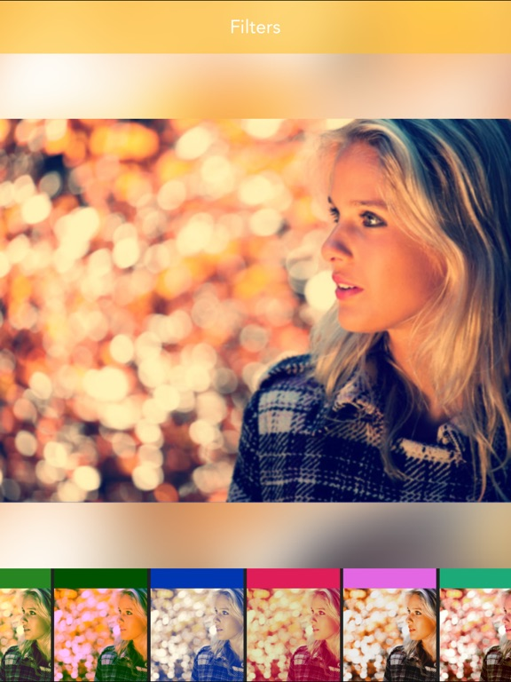Screenshot #4 for Speckle - Lens bokeh