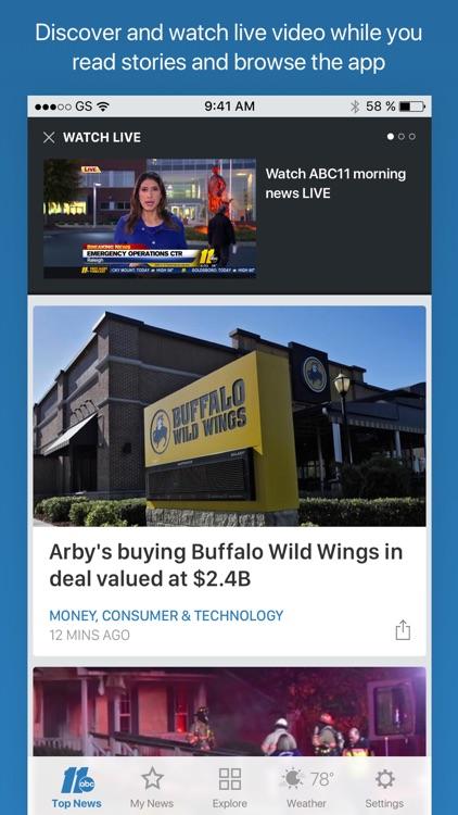 ABC11 Raleigh Durham screenshot-3
