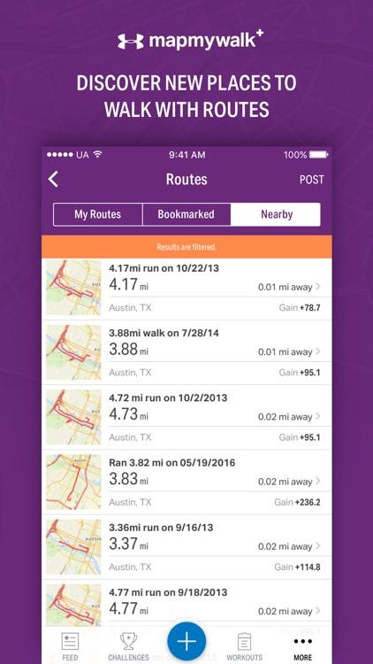 Map My Walk+ by Under Armour screenshot-3