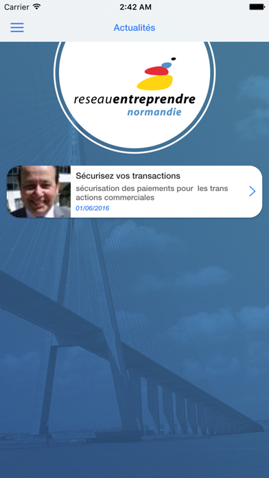 Reseau Entreprendre Normandie screenshot four