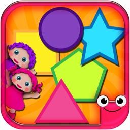 Shape Learning Games-EduMath 2