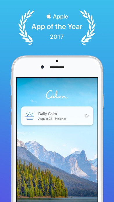 Screenshot for Calm in United States App Store