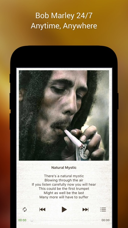 Bob Marley Official Music screenshot-3