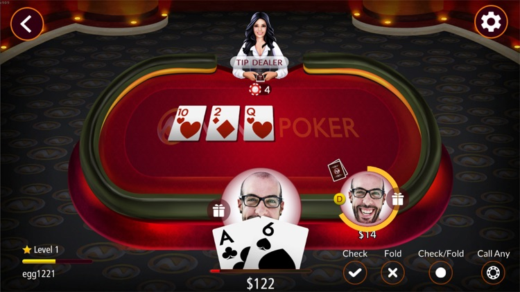 Miiny Poker Texas Holdem screenshot-3