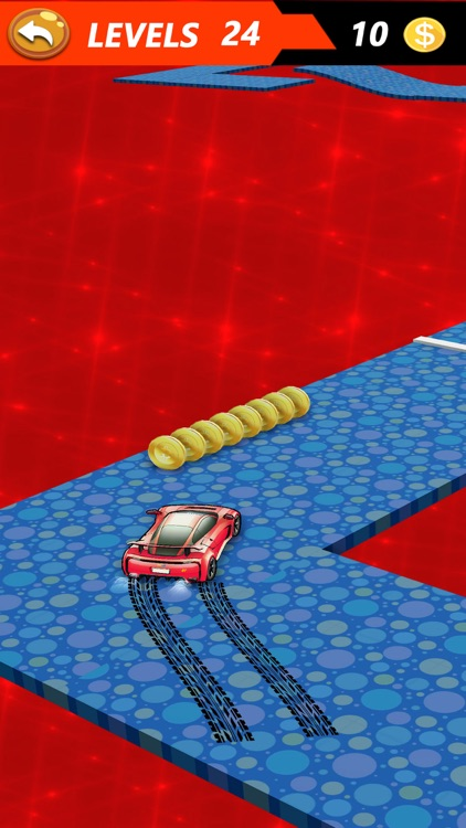 Drift Car on Skiddy Road