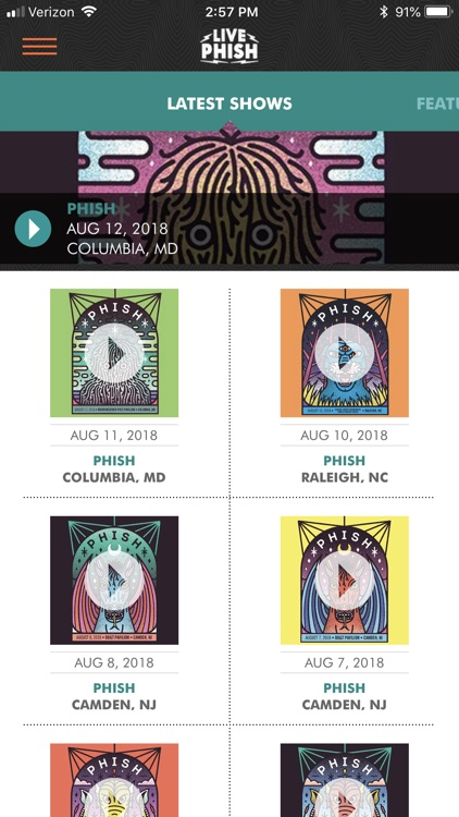 LivePhish screenshot-0