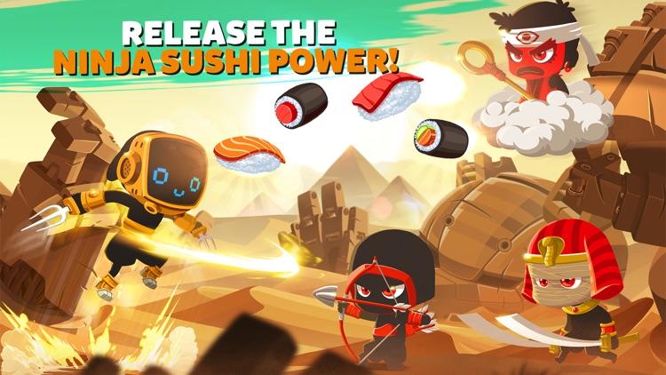 Ninja Dash - Ronin Jump RPG screenshot-3