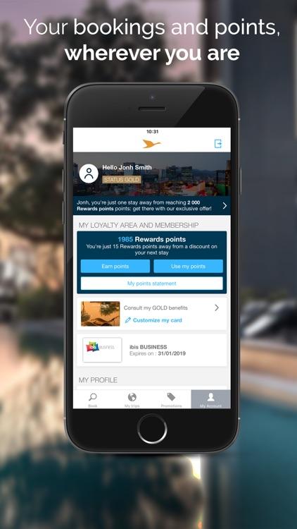 AccorHotels - Hotel booking screenshot-3