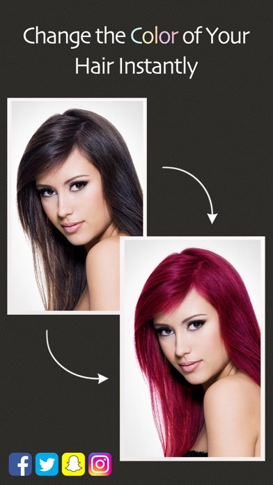 Hair Color Booth™ iPhone
