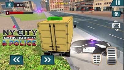 NY City Bank Robber & Police-3