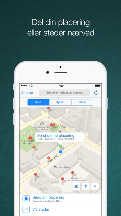 Screenshot for WhatsApp Messenger in Denmark App Store
